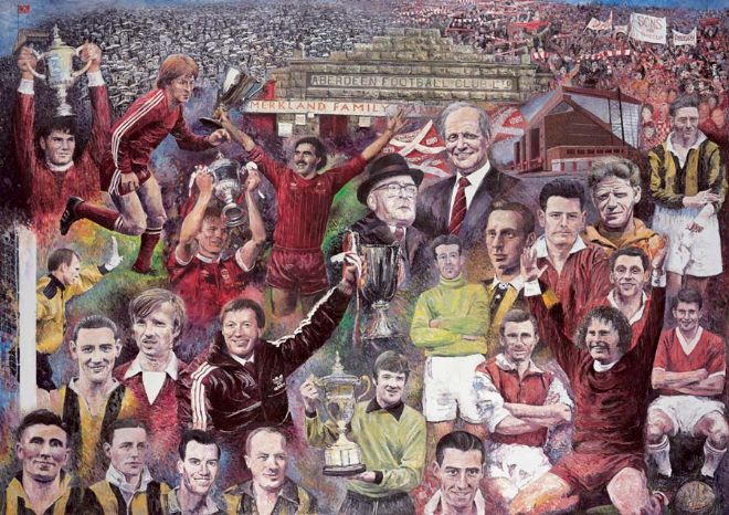 AFC - Legends of the First 100 Years Print